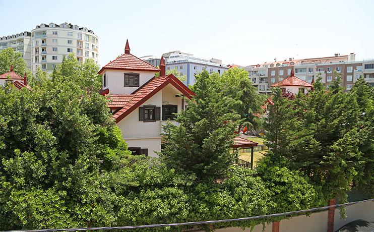 Lavinya Garden | 1+0 Şehir Manzaralı Daire